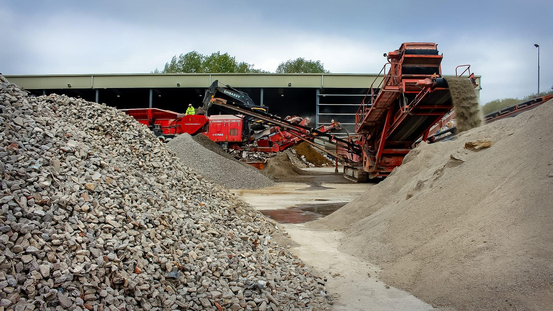 Crushing & Screening | JOD Group | J.O'Doherty Haulage Ltd